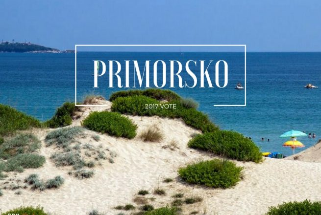 "Nomination of Primorsko Municipality for ""MUNICIPALITY OF 2018 FOR SEA TOURISM"""