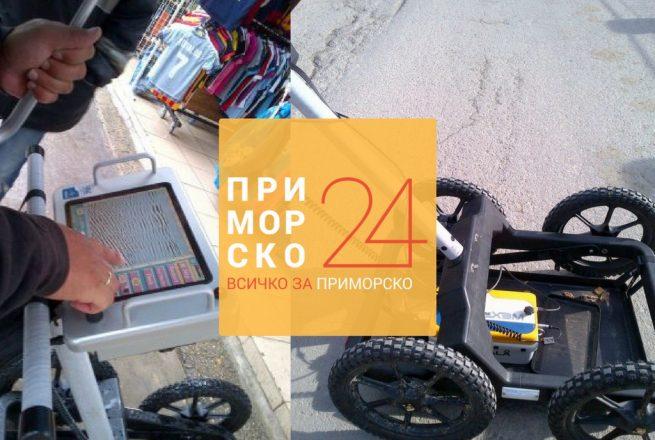 Интегриран георадар за музея в Приморско