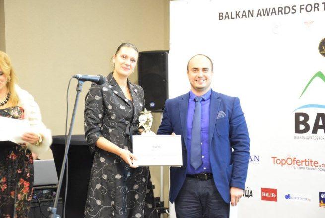 Триумф за Приморско с престижна награда за туризъм