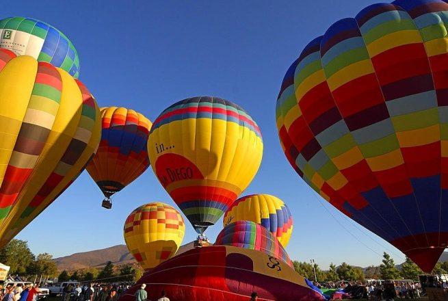 Летене с балон над Приморско