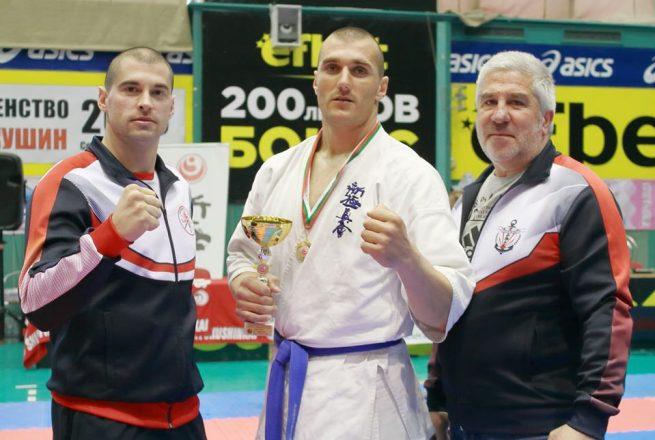 Петко Желев със злато от Националното първенство по карате шинкиокушин